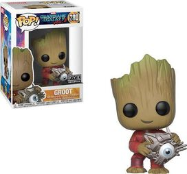 Groot with Cyber Eye Exclusive Funko Pop!