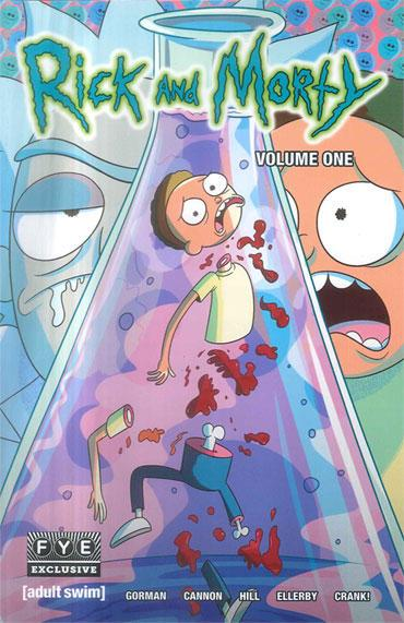 Rick And Morty V1 Graphic Novel with Exclusive Variant Cover