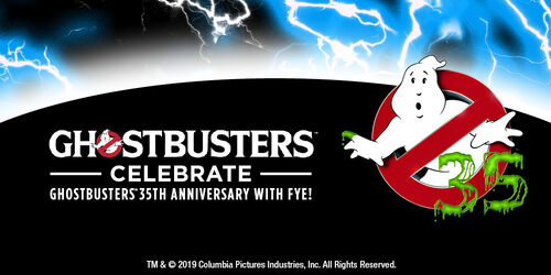 Ghostbusters 35th Anniversary Merchandise