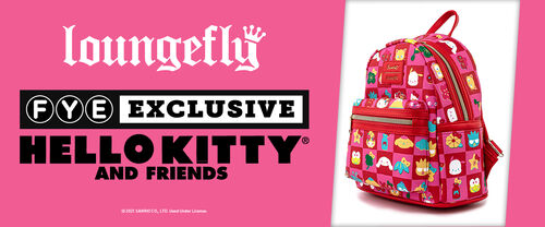 FYE Exclusive Loungefly Hello Kitty And Friends - Shop Now!