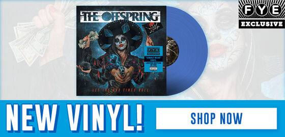 New Exclusive Vinyl: The Offspring/Let The Bad Times - [Exclusive Cobalt Blue Vinyl] - Pre-Order Now!