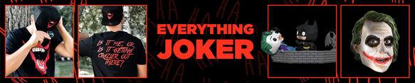 Joker Merchandise - Now Available