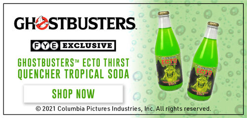 FYE Exclusive: Ghostbusters Ecto Thirst Quencher Tropical Soda - Shop Now!