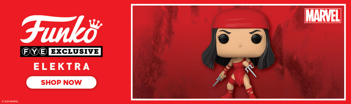 FYE Exclusive Marvel 80th Anniversary: Elecktra Funko Pop - Now Available