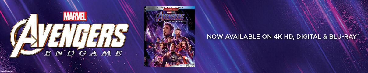 Avengers: Endgame - Now Available on 4k HD, Digital & Blu-ray