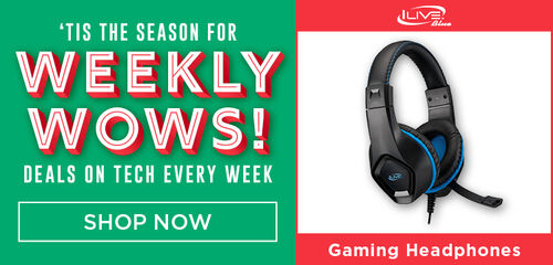 Tis The Season For Weekly Wows!  Deals On Tech Every Week: Featuring Gaming Headphones!  Shop Now!