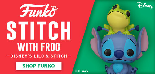 Funko Pop Disney Stitch With Frog.  Lilo & Stitch - Shop Funko!