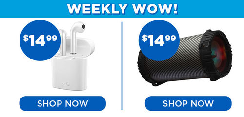 Weekly wow: Hype True Wireless $14.99 & 2Boom Twister - $14.99