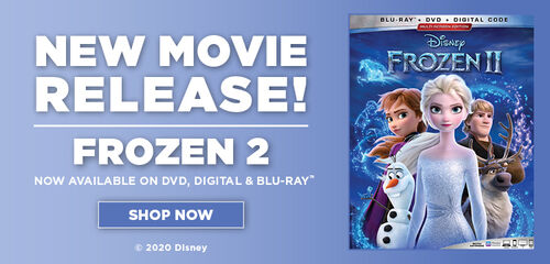 Frozen II - Now Available on Blu-ray & Digital