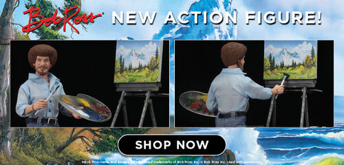 Bob Ross New Action Figure Available