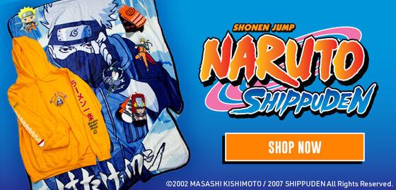 Shonen Jump Naruto Shippuden - Shop Now!