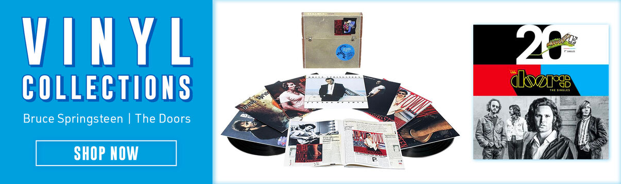 Vinyl Collections Featuring Bruce Springsteen & The Doors - Shop Now!