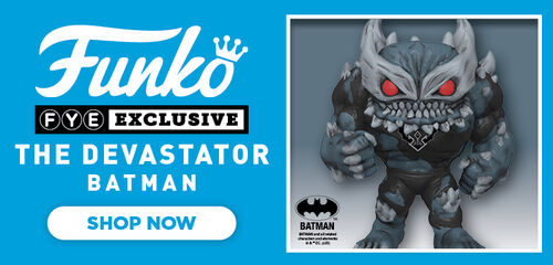 FYE Exclusive The Devastator Batman Funko Pop - Now Available