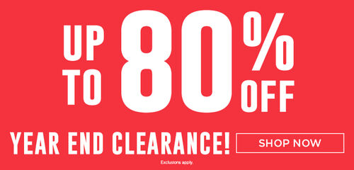 Year End Clearance 2020 - Up to 80% off!