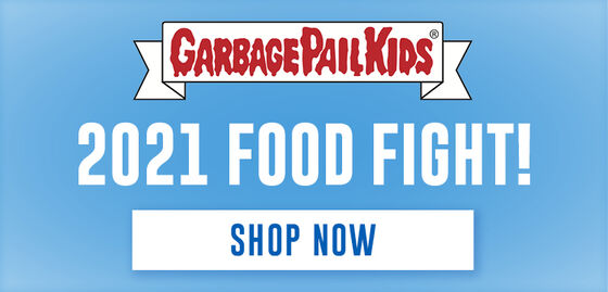 Garbage Pail Kids Food Fight:  Series 1 Refrigerator Tin / Fat Packs - Shop Now!