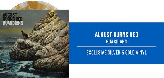New Exclusive Vinyl: August Burns Red - Guardians [Exclusive Silver & Gold Vinyl] - Shop Now!