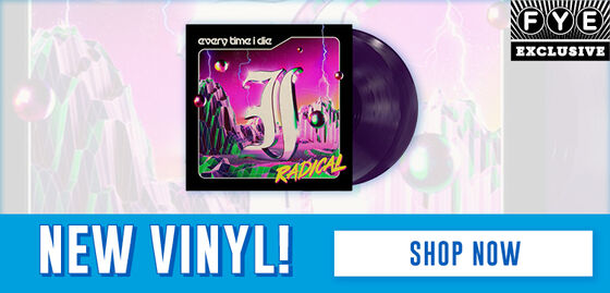 FYE Exclusive: New Music Releases: Every Time I Die/ Radical  [Purple Exclusive Vinyl] -  Shop Now!