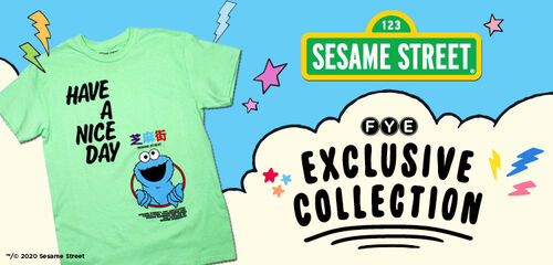 FYE Exclusive Sesame Street Collection - Shop Now!