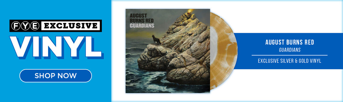 New Exclusive Vinyl: August Burns Red - Guardians [Exclusive Silver & Gold Vinyl] - Now Available