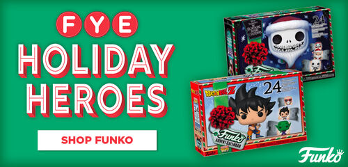 FYE Holiday Heroes Funko Advent Calendars Featuring:  The Nightmare Before Christmas & DragonBall Z - Shop Now!