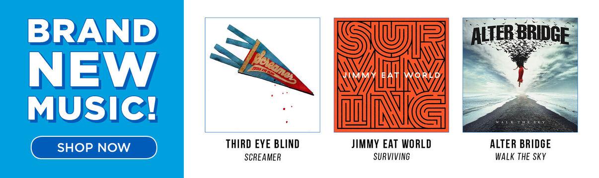 New Music Releases - Third Eye Blind/Screamer; Jimmy Eat World/Surviving; Alter Bridge/Walk The Sky & More!