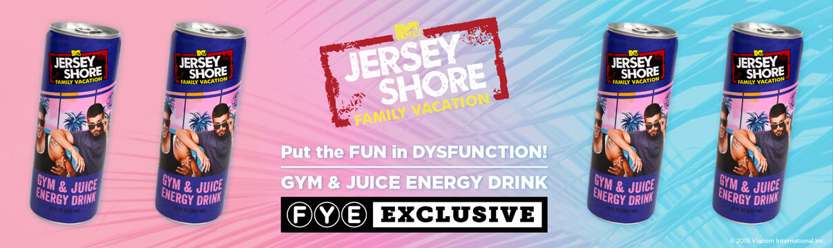 Exclusive Jersey Shore Gym and Juice Energy Drink - Now Available!