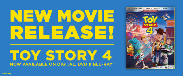 Toy Story 4 - Now Available on 4k UHD, Blu-ray & Digital