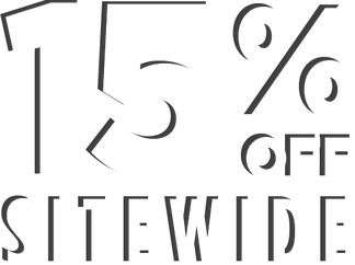 15% off sitewide (exclude pre-order, exclusives, select items) valid 12/12/18-12/15/18 eastern standard time online only exclusions apply