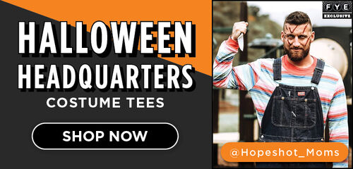 Halloween Headquarters Costume Tees Featuring:  Long Sleeve Child's Play & Nightmare on Elm Street Striped Shirts - Shop Now!