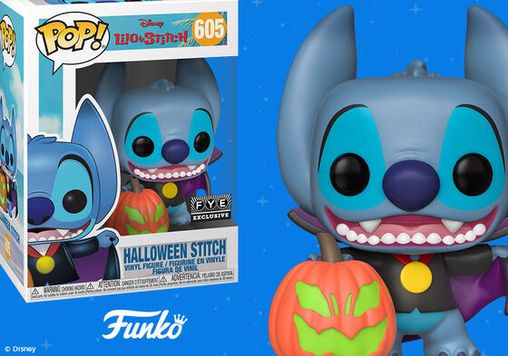 Exclusive Funko Pop Halloween Stitch