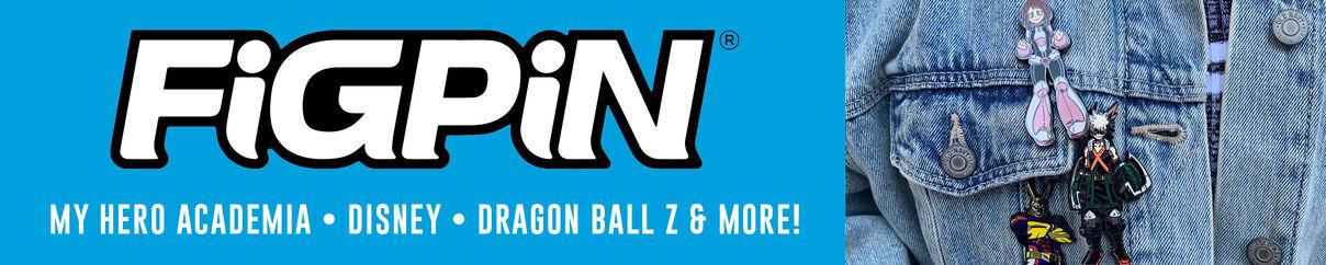 Figpin - My Hero Academia, Disney, Dragon Ball Z & More! Shop Now!
