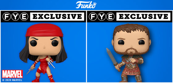 Exclusive Funko Pop Marvel 80th Anniversary: Elecktra & Gladiator - Maximus HGGA