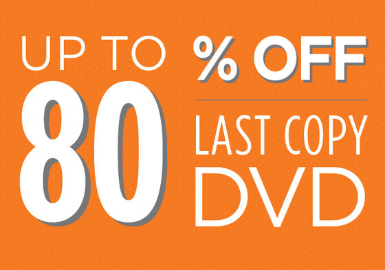Last Copy Used DVDs up to 80% off