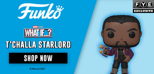 FYE Exclusive Funko Pop: What If...?  T'Challa Starlord - Shop Now!
