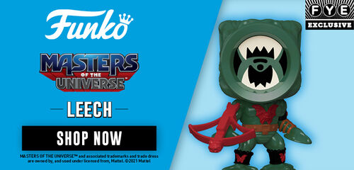 FYE Exclusive Funko Pop Masters Of The Universe:  Leech -  Pre-Order Now!