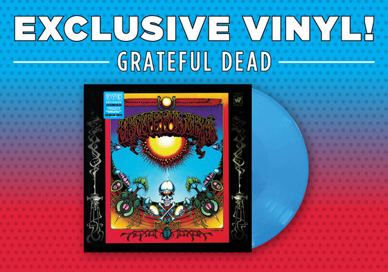 Primary Slider - Exclusive Vinyl - Grateful Dead - Aoxomoxoa [Exclusive Bright Blue Vinyl]
