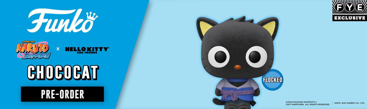 FYE Exclusive Funko Pop: Sanrio Naruto Flocked Chococat - Shop Now!