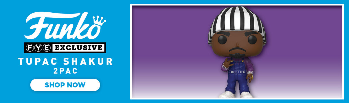 Exclusive Tupac Funko Pop!  Thug Life.  Shop Now