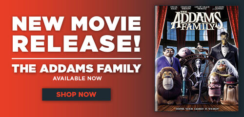 New Release: The Addams Family - Now available on Digital, Blu-ray and DVD