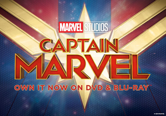 Primary Slider - Captain Marvel - Now Available on 4k UHD, Blu-ray & Digital