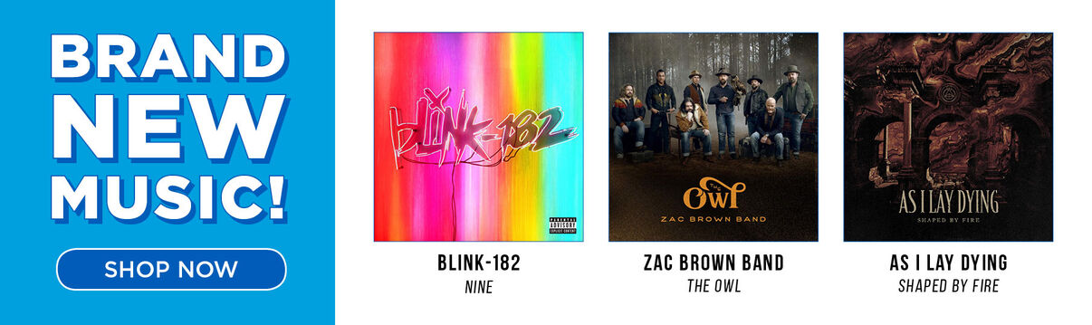 Primary Slider: New Music Release: Blink-182/Nine & Zac Brown/Owl & more!