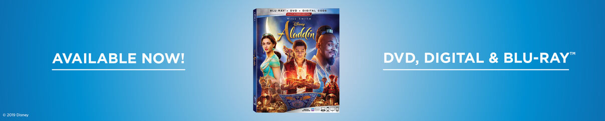 Aladdin - Now Available on 4k UHD, Blu-ray & Digital