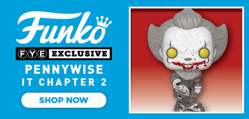 FYE Exclusive Black & White Pennywise It Chapter 2 Funko Pop- Now Available