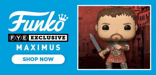 FYE Exclusive Gladiator: Maximus Funko Pop - Now Available