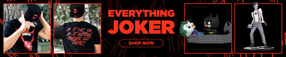 Joker Merchandise - Now Available