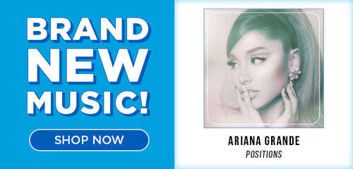 New Music Releases Featuring:  Ariana Grande/Positions, Sam Smith/Love Goes, U2/All That You Can't Leave Behind 20th Anniversary & More!  Now Available!