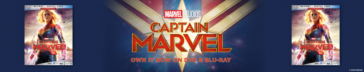 Captain Marvel - Now Available on 4k UHD, Blu-ray & Digital
