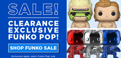 Clearance Exclusive Funko Pops! Shop now
