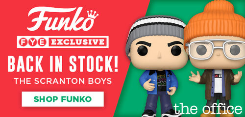 Funko Pops FYE Exclusive!  Back In Stock!  The Scranton Boys:  The Office.  Shop Now!