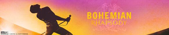 Queen Bohemian Rhapsody Own it now on DVD & BR